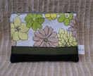 Chirpy-Cheerful Flowers Zip Wallet