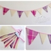 **SALE** Bunting (Pretty Pinks)
