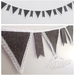 **SALE** Bunting - with LACE detail
