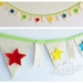 **SALE** Bunting (Star Rainbow)