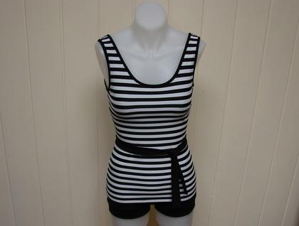 Sailor two piece swimsuit
