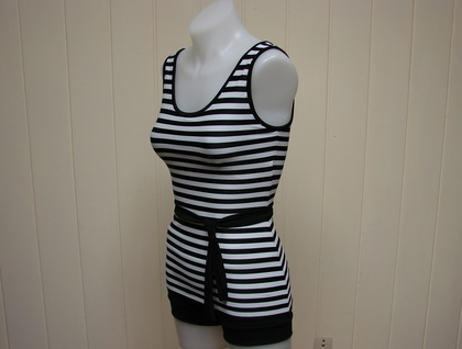 Sailor two piece swimsuit