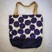 Canvas beach bag/carry all/large tote