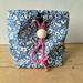 Liberty fabric drawstring bag