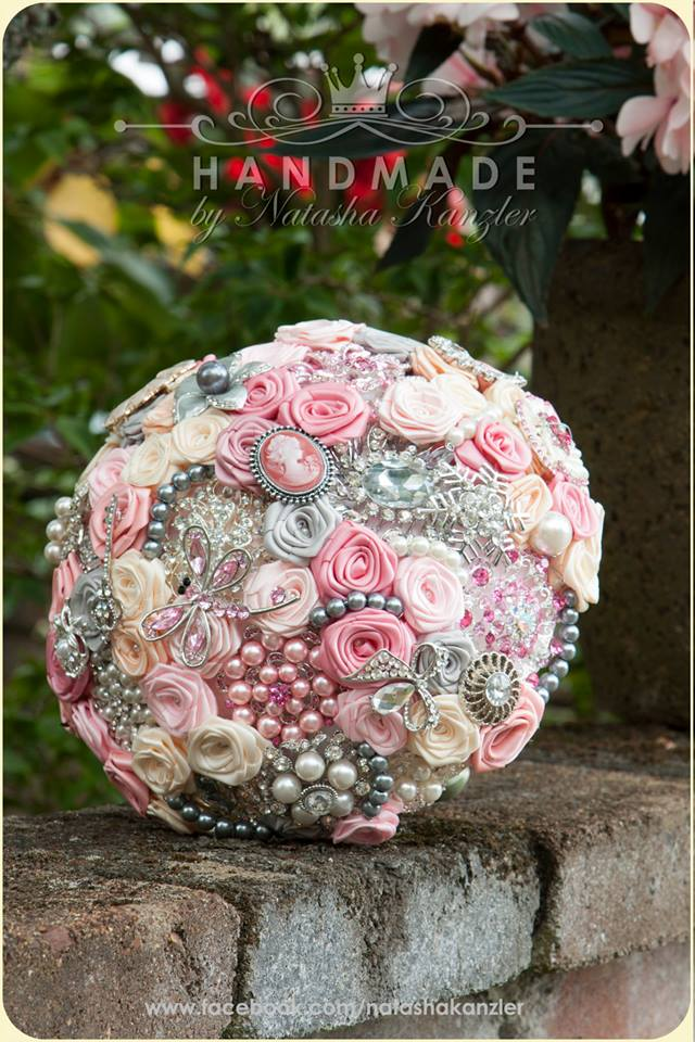 Wedding Brooch Bouquet Nz : Wedding brooch bouquet for order collection quot premium felt