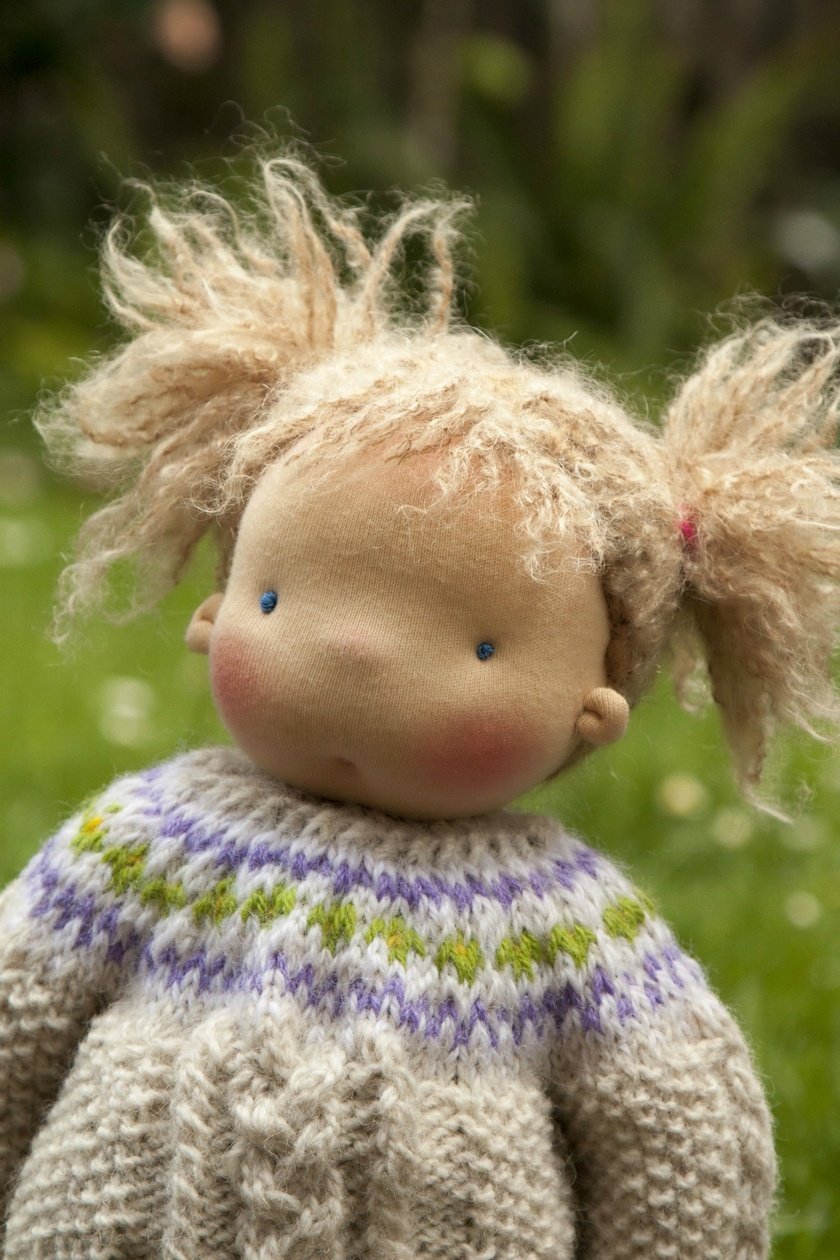 Reserved. Waldorf doll, Steiner doll, handmade doll, cloth doll