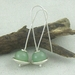 Sterling Silver and Green Aventurine Earrings