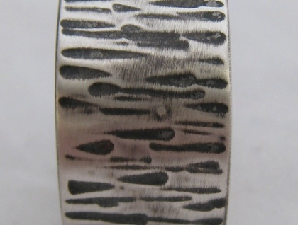 Sterling Silver Hammered Ring / Band