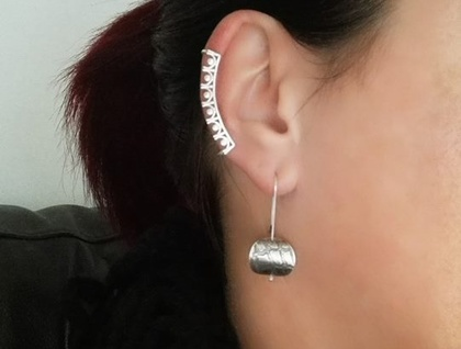 Sterling Silver Ear Cuff - No piercing required