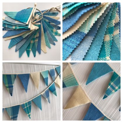 Bunting - Blue