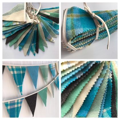 Bunting - Green/Blue