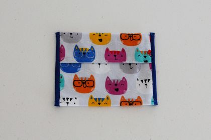 Lunch Things - Snack Bag - Quirky Cats