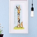 Small Daisy Chain Bunnies Fine Art Giclee Print