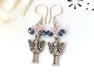 RubyMae - Crystal Love Fairy Earrings