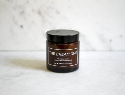Cream Soy Wax Candle