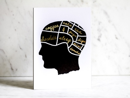 Real Phrenology Print