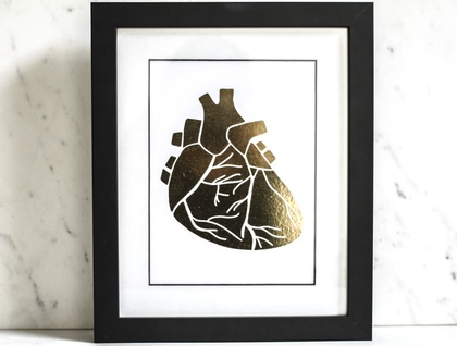 Heart of Gold Print - A5