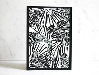 Tropical Print - A4