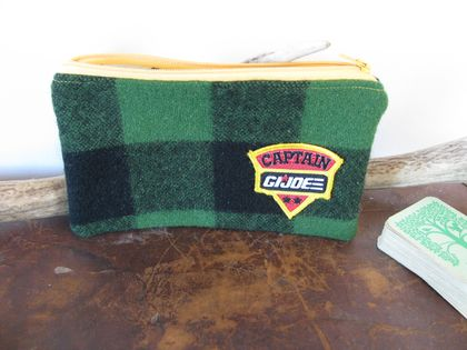 """GI Joe"" bush shirt pouch/purse"