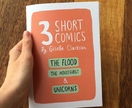 3 Short Comics - A Zine by Giselle Clarkson
