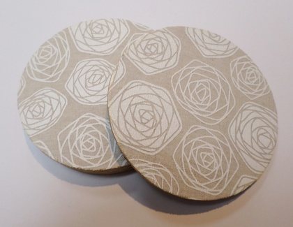 Coasters - Rose design