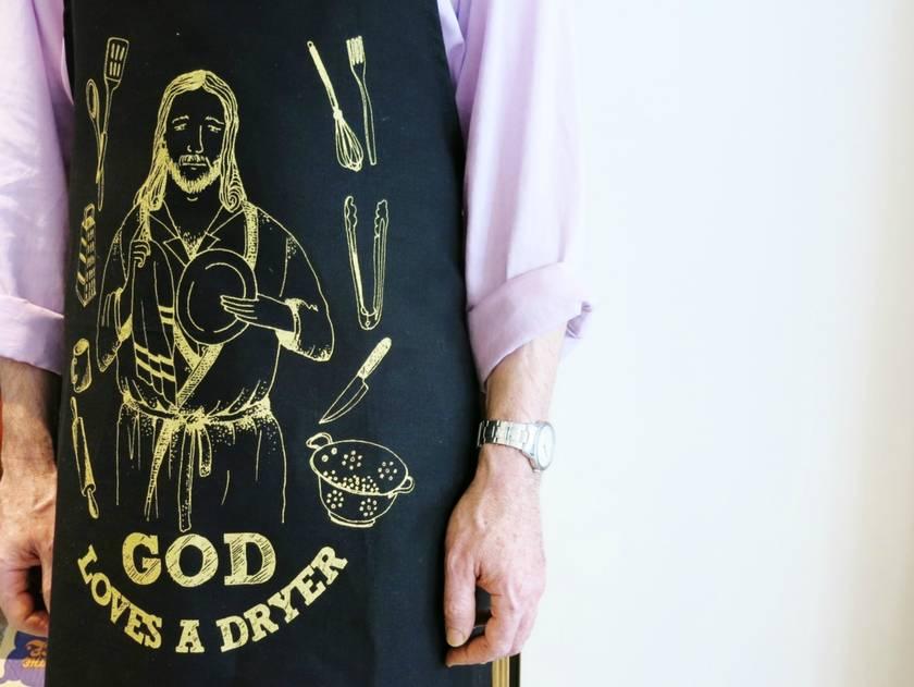 God Loves a Dryer Apron