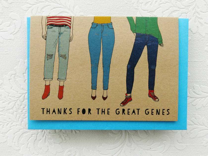 Mothers Day Great Genes Card