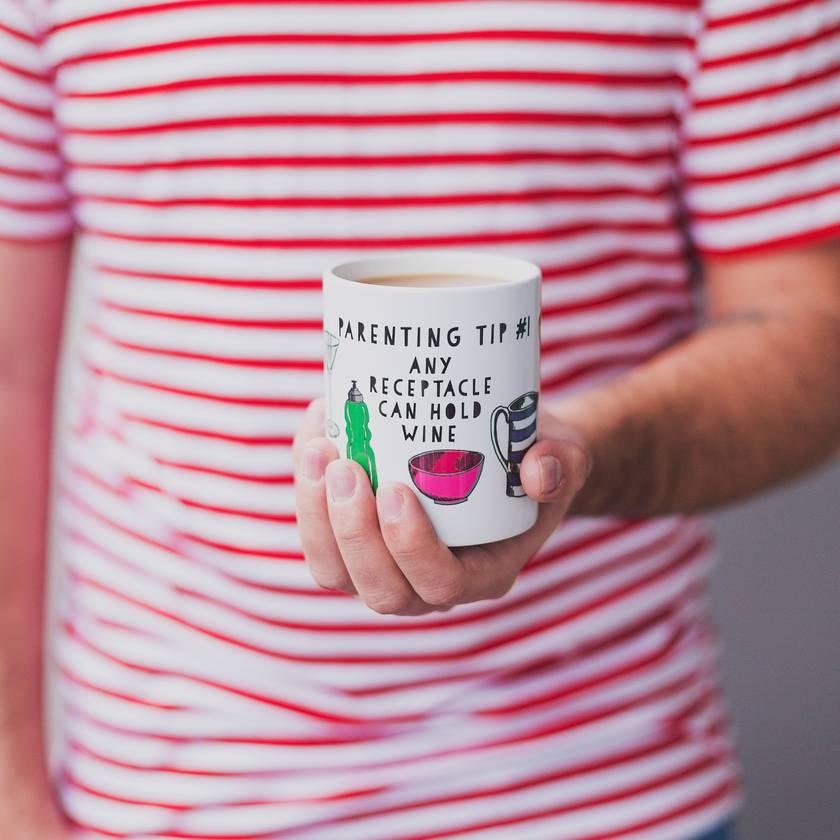 Parenting Tip Ceramic Mug