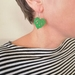 Kawakawa leaf earrings