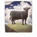 """Black Cow"" - Quality Print"