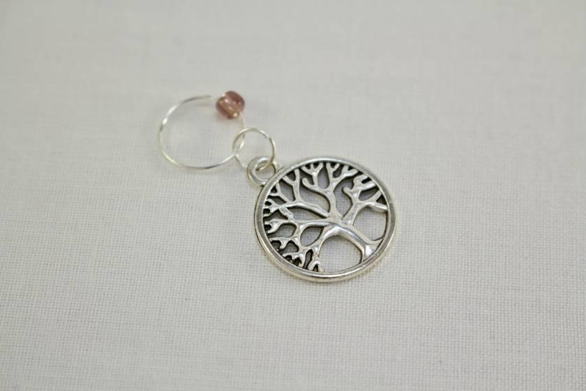 5 Tree of Life Knitting Stitch Markers
