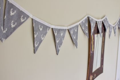 Scandi Reindeer Bunting - 3 Metres Double-Sided