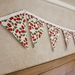 Sparkly Cherries Bunting - 3 Metres Single Sided