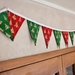 Christmas Tree Bunting - 3 Metres Double-Sided