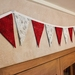 Sparkly Pine Cones Bunting - 3 Metres Double-Sided