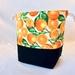 Orange Tree Drawstring Bag Medium Size