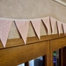 Pastel Pink Polka Dot Bunting - 3 Metres Double-Sided