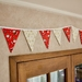 Santa and Snowflakes Bunting - 3 Metres Double-Sided
