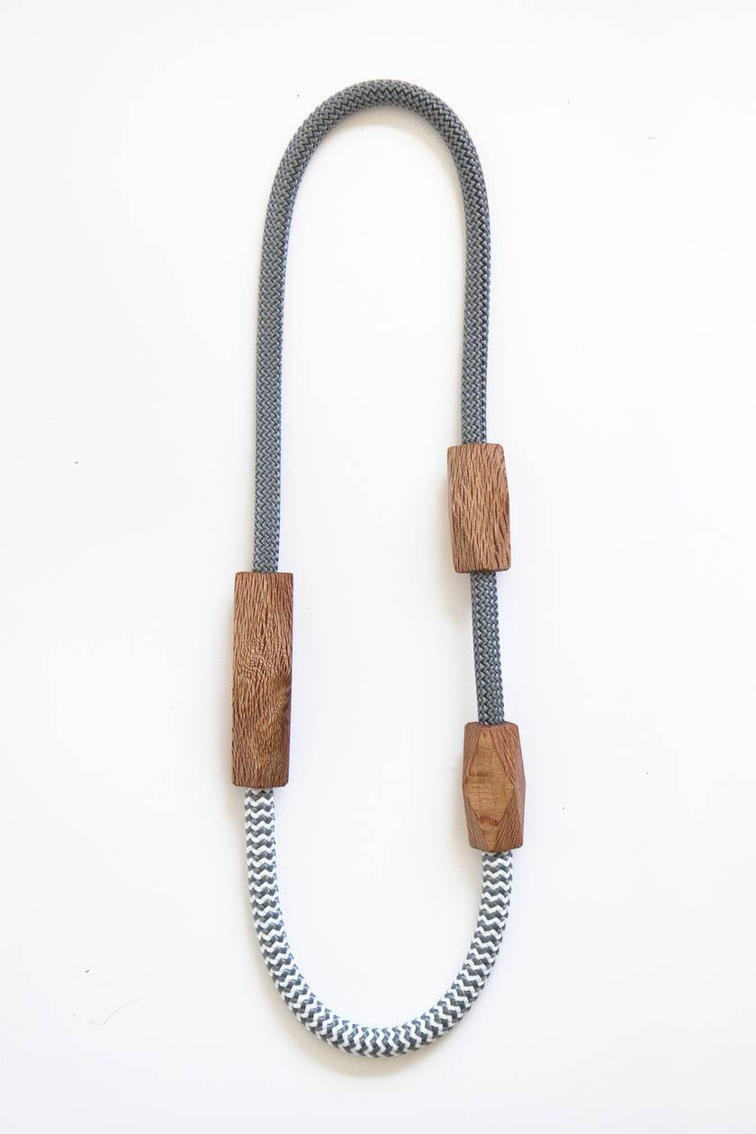 Rewarewa Rope Necklace — long