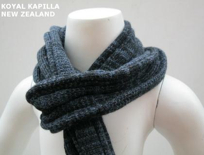 Vintage insp Denmin Marle Wool Roll kids Scarve by Koyal Kapilla NZ