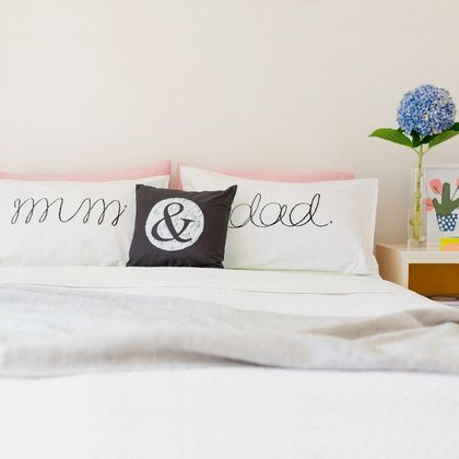 Mum & Dad Pillowcase Set