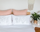 StitchWork Pillowcase Set - Slate