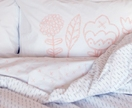 StitchWork Pillowcase Set - Blush