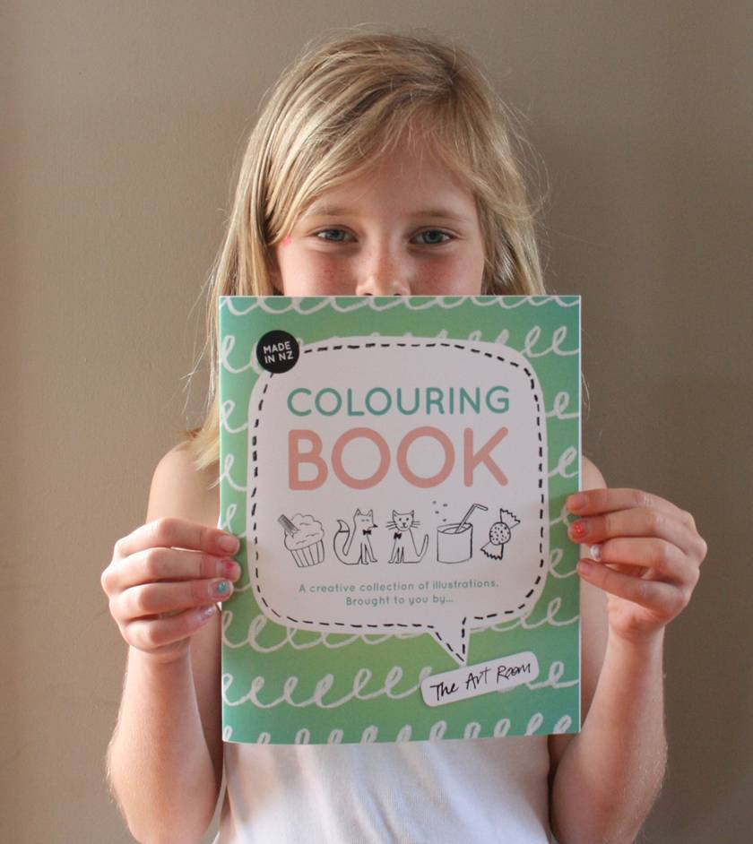 The Art Room Creative Colouring Book