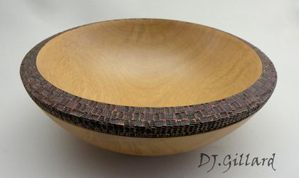 Flax weave Bowl