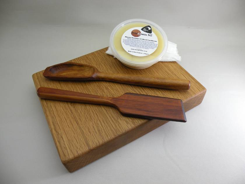 Manuka Beeswax and oil wood conditioner