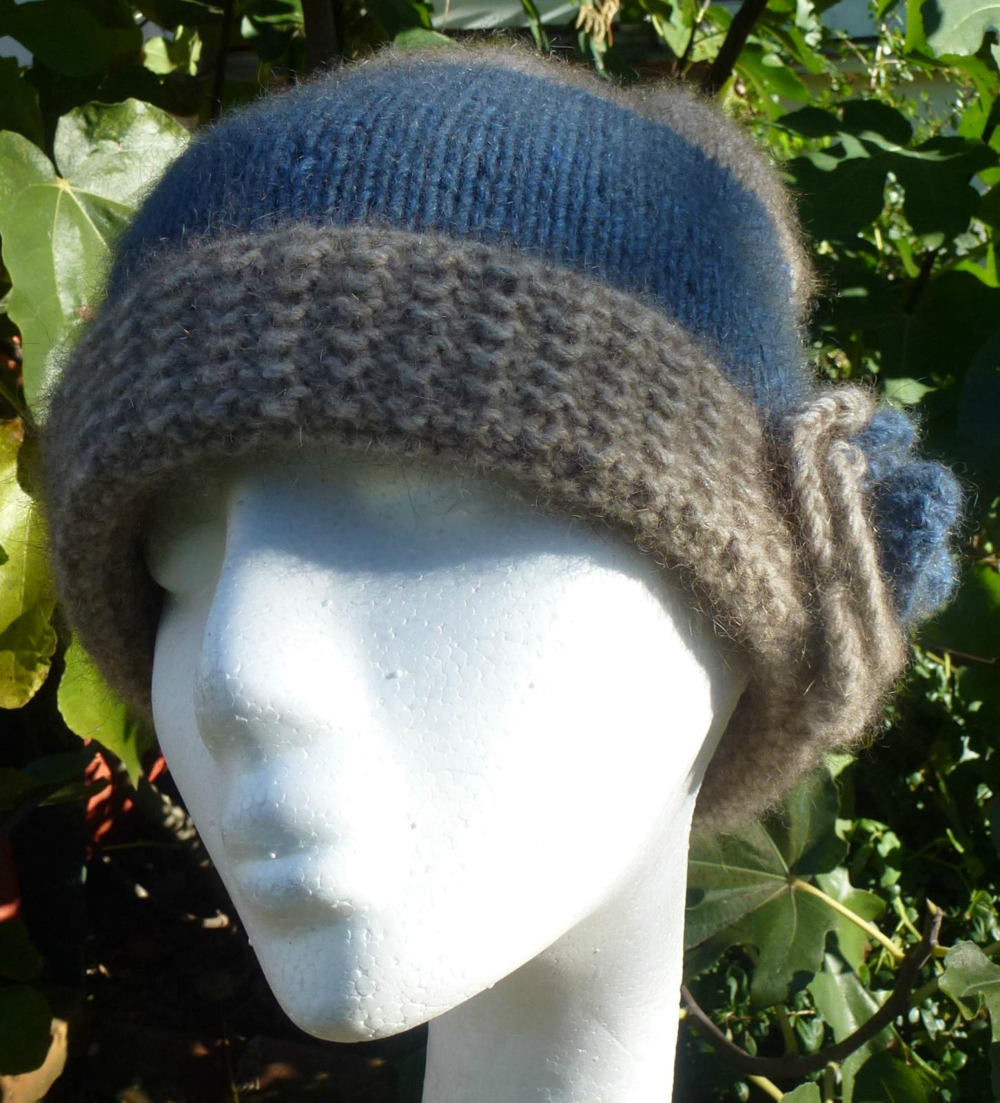 Soft Luxurious Possum Merino & Silk Hand Knitted Cloche Hats Felt