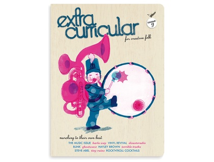 Extra Curricular magazine issue 9 * PRE-ORDER FOR SEPTEMBER 15 *