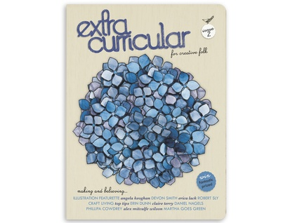 Extra Curricular magazine - Issue 2 - marked cover