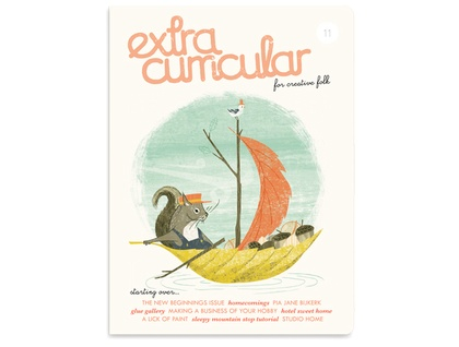 Extra Curricular magazine Issue 11 - PRE-ORDER (to be sent March 26th)